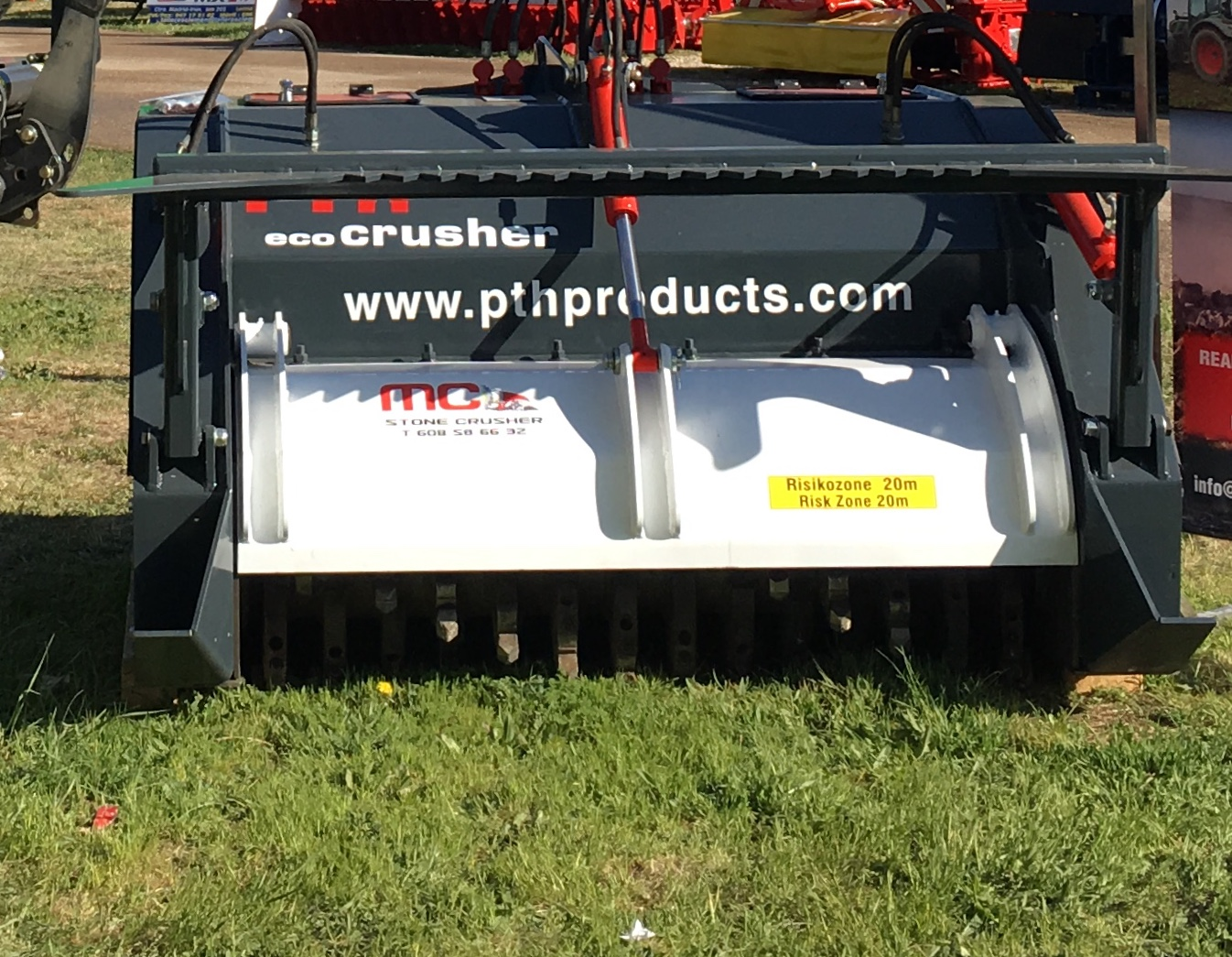 Trituradora Piedras PTH ECO Crusher 150
